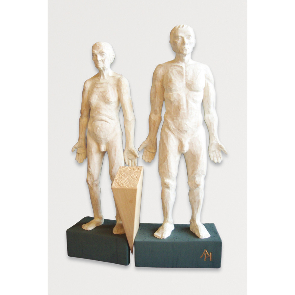 Zirbenholz – Acrylfarbe 41 x 24 cm