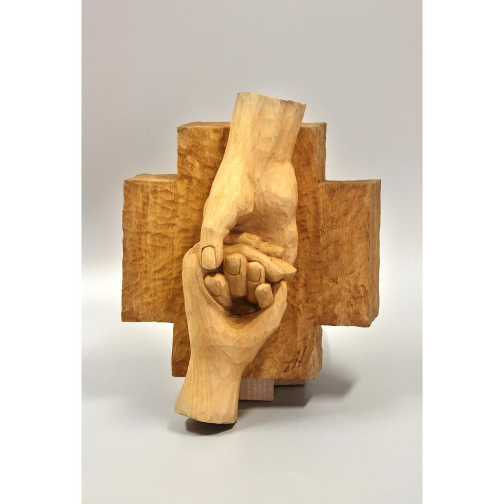 Zirbenholz – Beize 24 x 26 cm