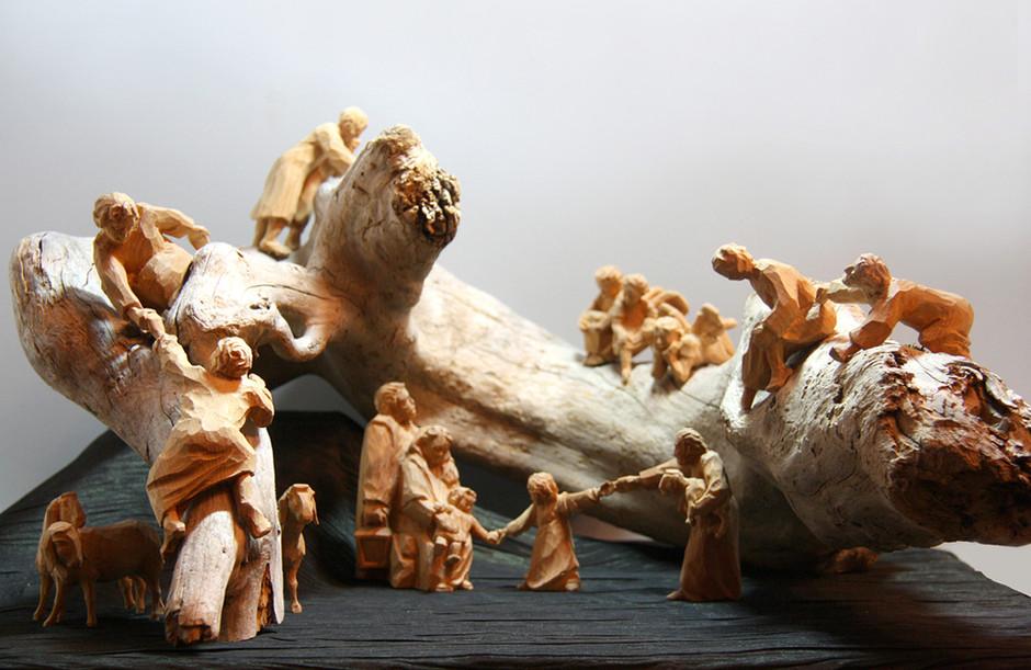 Zirbenholzfiguren