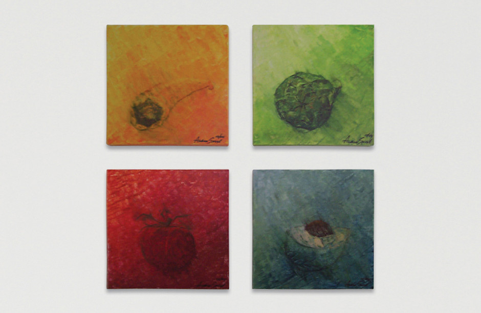 Acrylmalerei – Holz 40 x 40 cm