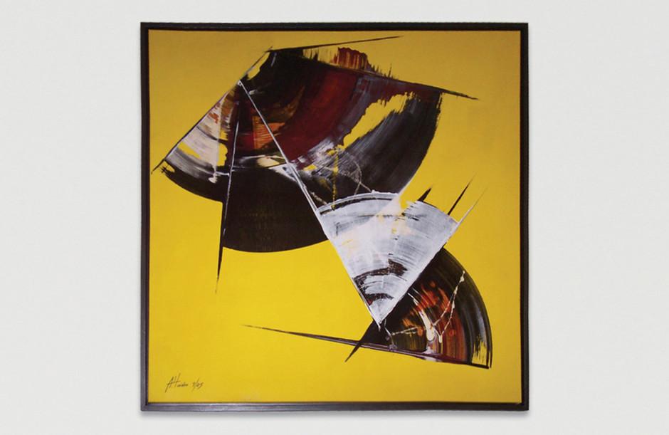 Acrylmalerei – Leinwand 100 x 100 cm