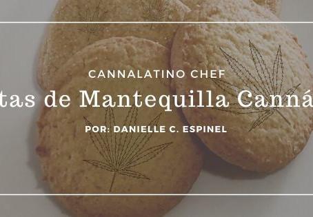 Galletas de Mantequilla Cannábicas