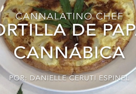Tortilla de papas Cannábica