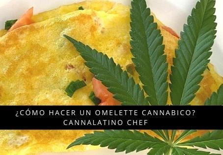 ¿Cómo hacer un Omelette Cannabico? con Cannalatino