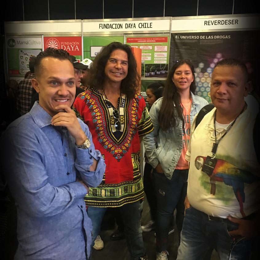 Cannalatino en Expoweed Mexico 2017.