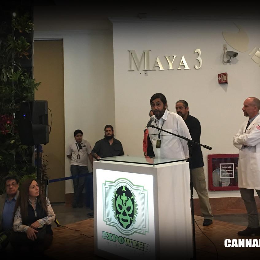 Cannalatino en Expoweed Mexico 2017