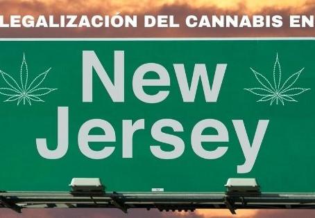 LEGALIZACIÓN DEL CANNABIS: NUEVA JERSEY LE GANA A NUEVA YORK