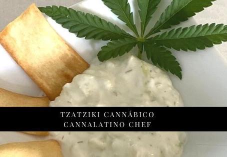 Tzatziki Cannábico por Danielle C. Espinel - La MariaJuana