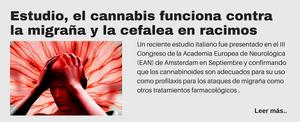 Estudio, el cannabis funciona contra la migraña y la cefalea en racimos