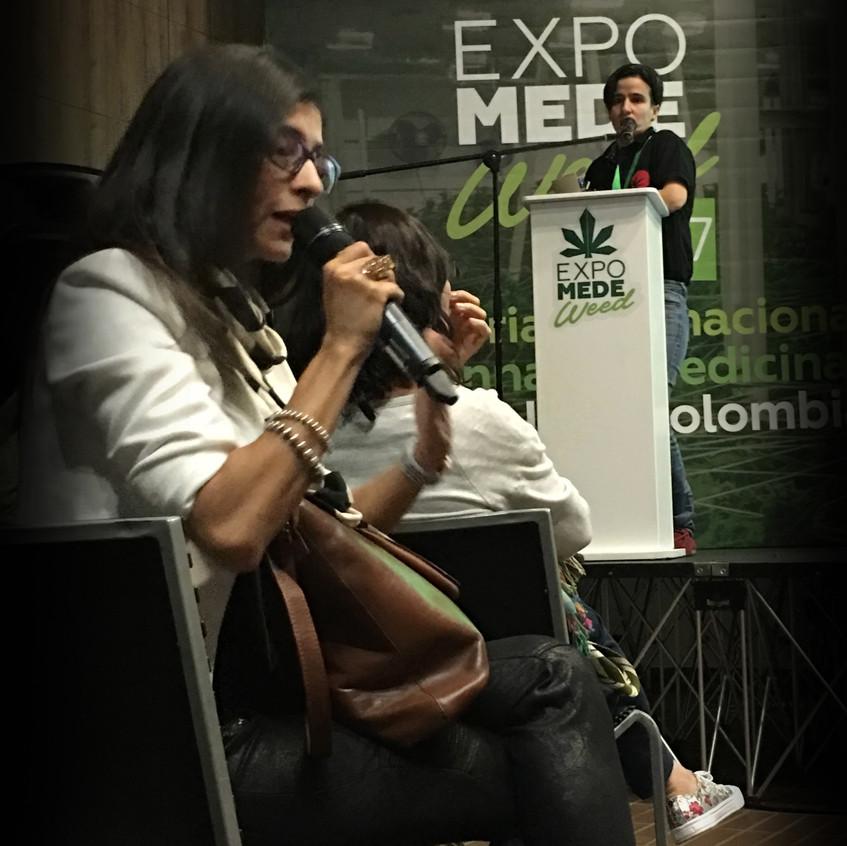 Cannalatino en ExpomedeWeed 2017