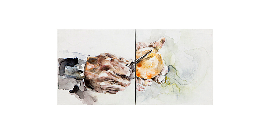 Untitled, Diptych, 2015