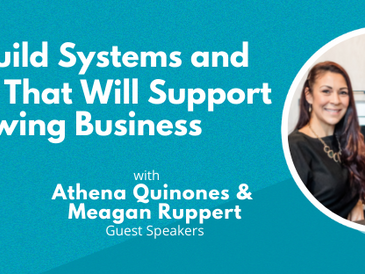 How To Build Systems and Processes That Will Support Your Growing Business
