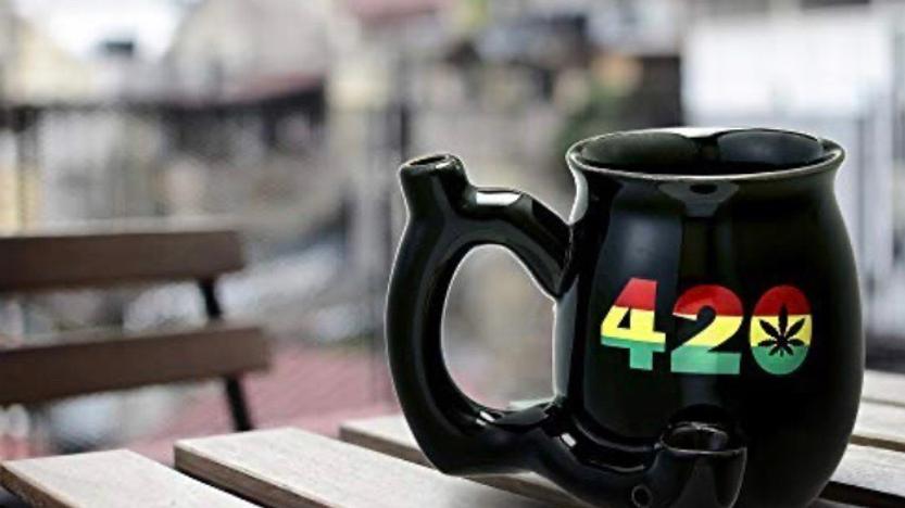 420 Novelty Smokers Mug