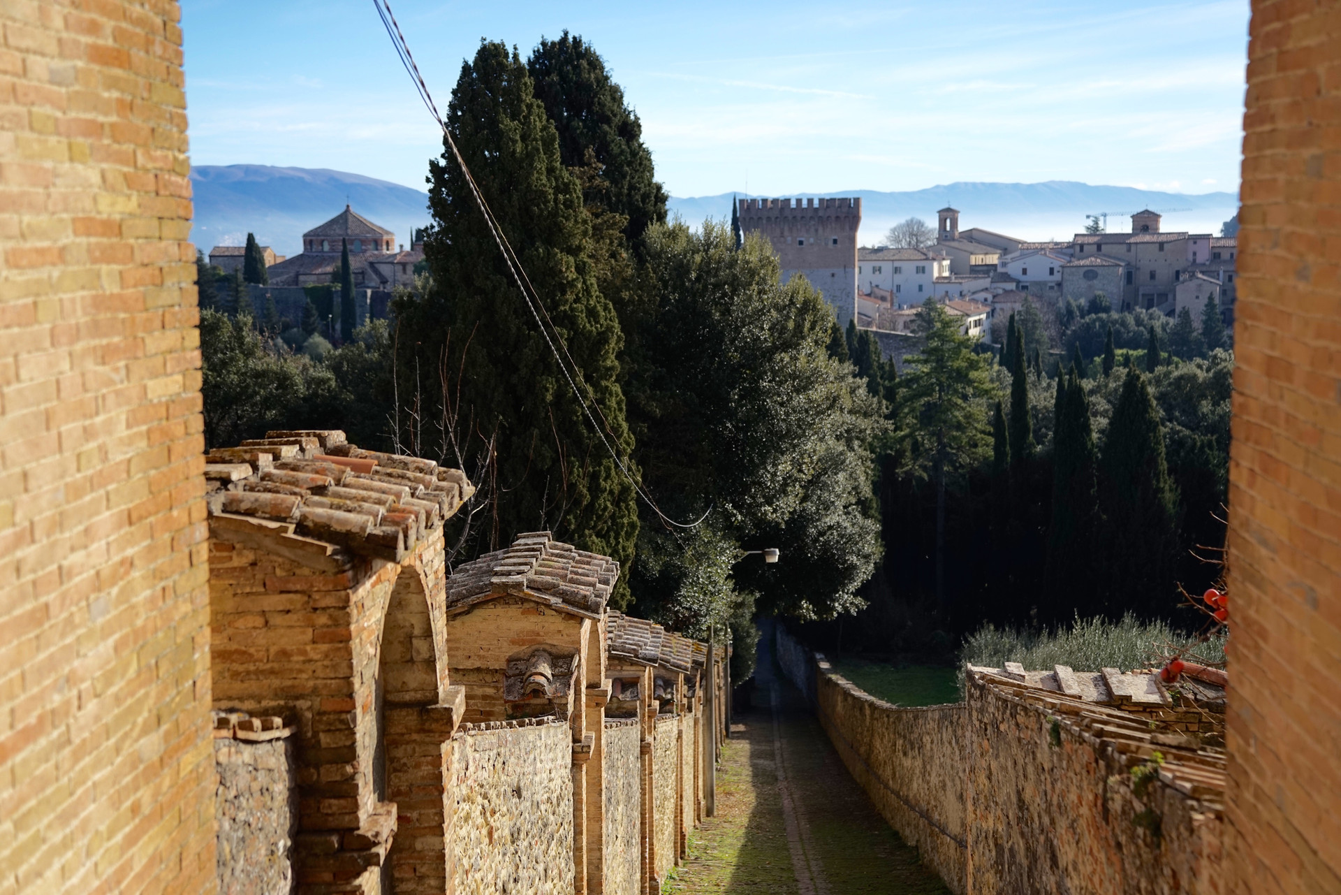 Panoramica da Monteripido