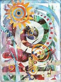 12. Homage to Al Loving 2010 watercolor