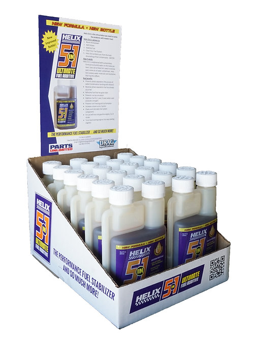 12pk 8oz. Helix 5in1 Ultimate Fuel Additive