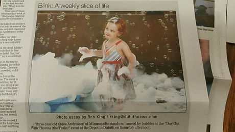 Bubble Mecca made the newspaper. I feel honored that I have been publicly recognized for my achievem