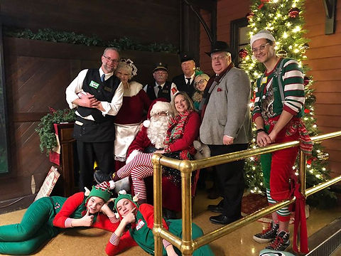 It's a wrap! Christmas City Express at Western Maryland Scenic Railroad-