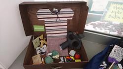 WWII suitcase Calderwood Lodge