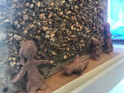 Atzmaut 11 sculptures (8) by Etz Chayim