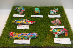 Sheep in the Negev by Mosaic Y1