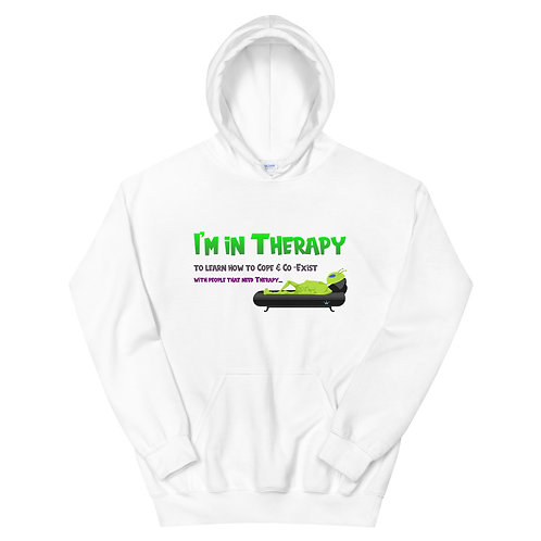 Therapy Unisex Hoodie