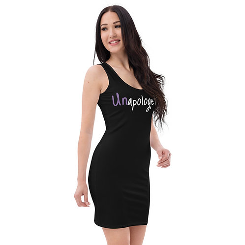 Unapologetic dress in black