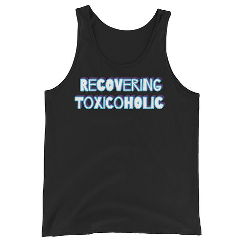 Recovering Toxicoholic Unisex Tank Top