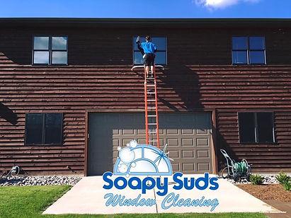 Soapy Suds Window Cleaning LLC making yo