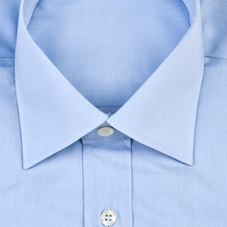 Light blue button up