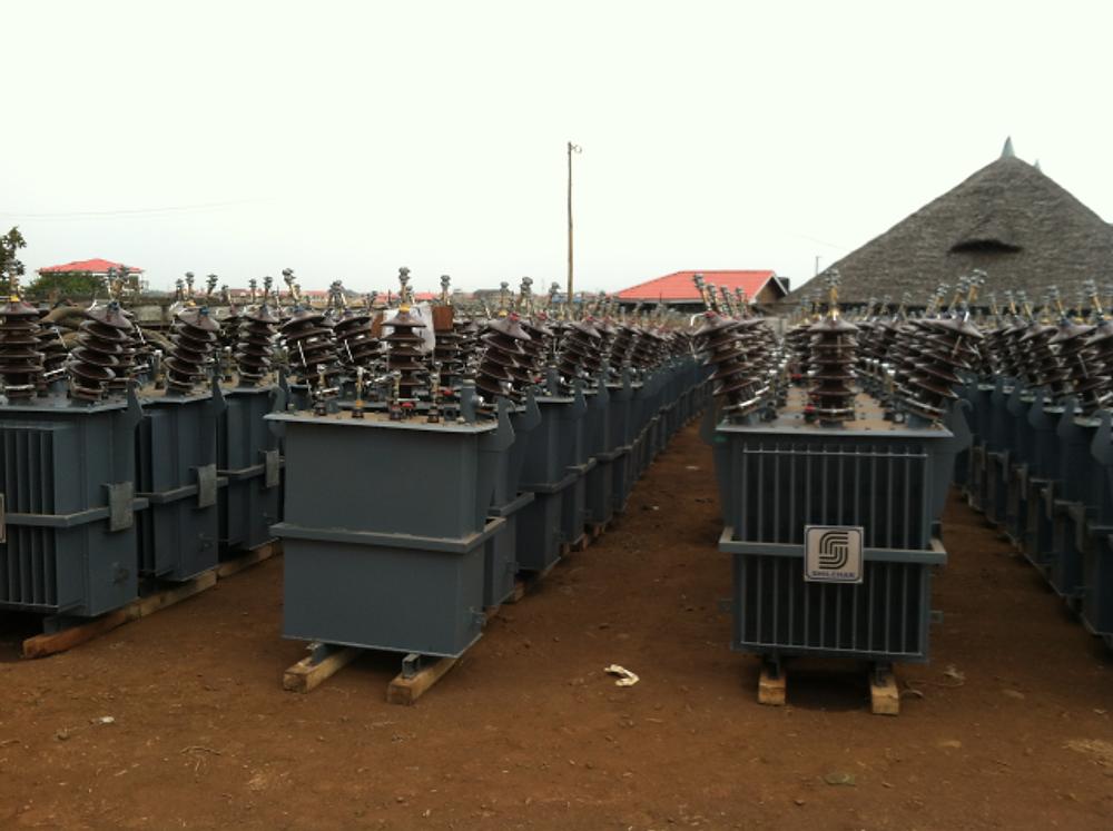 New transformers awaiting installation