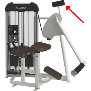 This weight assists during the harder portion