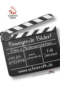 Filmfestival Programmheft Anzeige