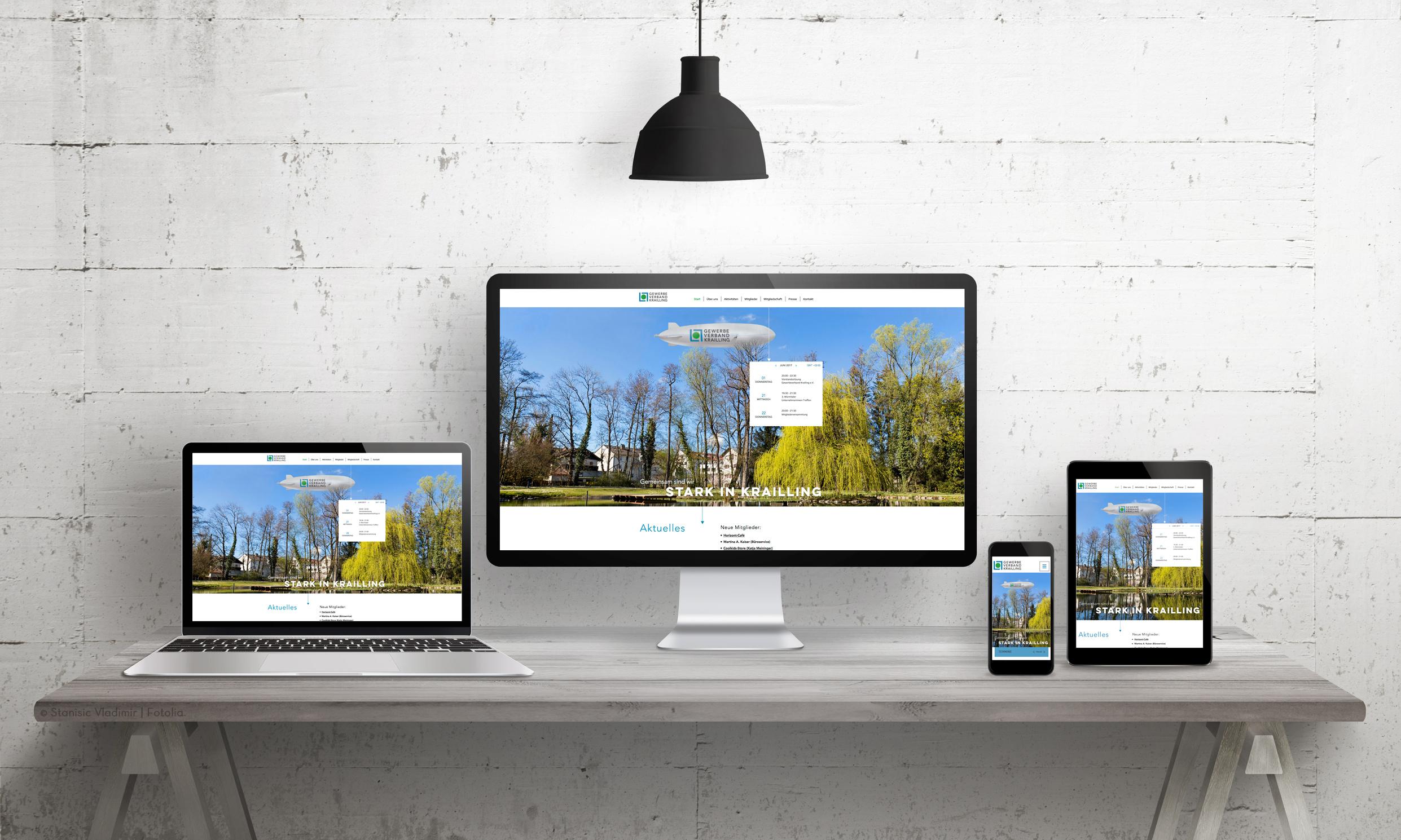 Website Gewerbeverband