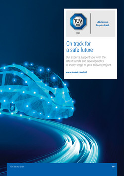 TÜV SÜD Rail Poster englisch