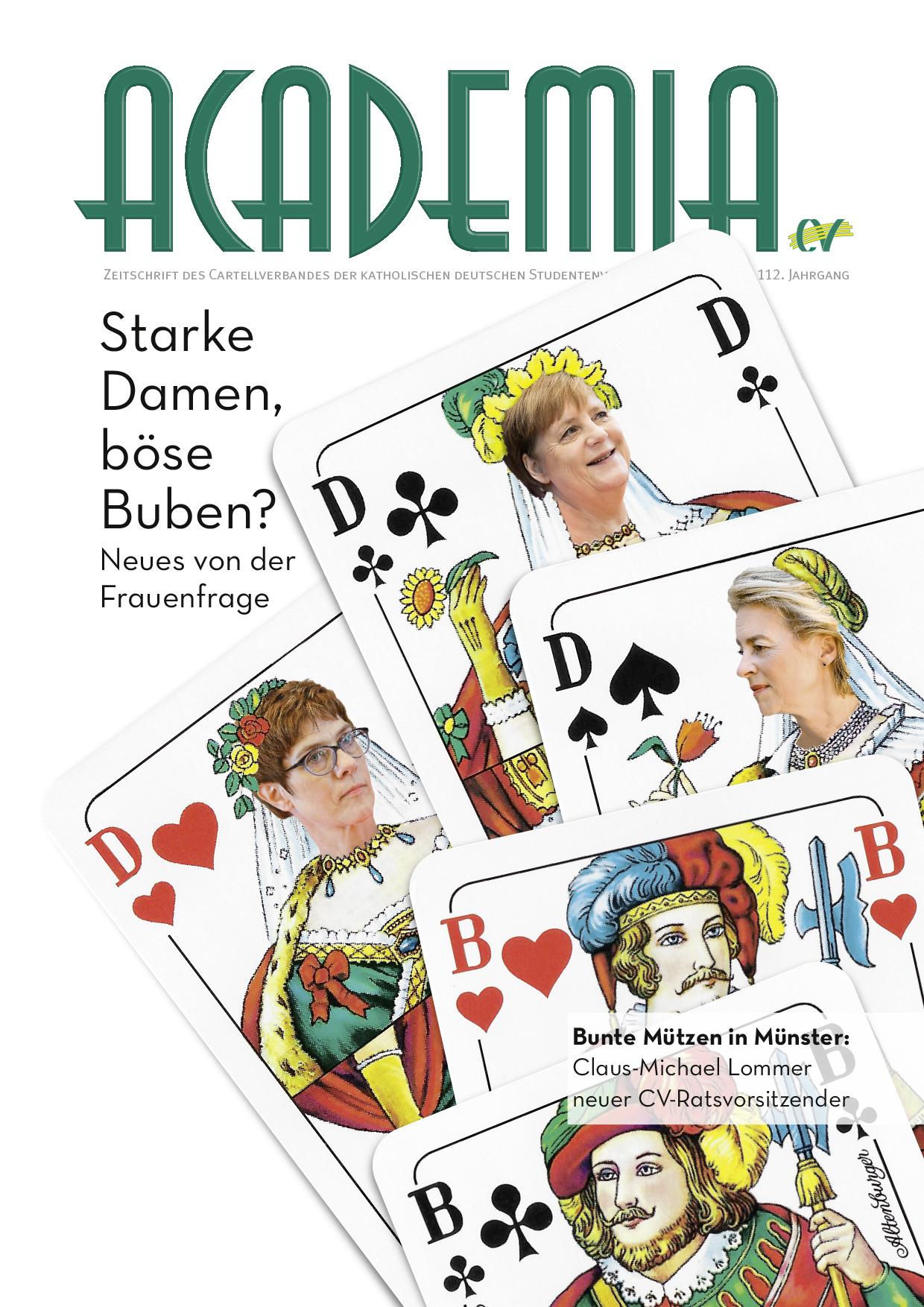 Zeitschrift Titelseite