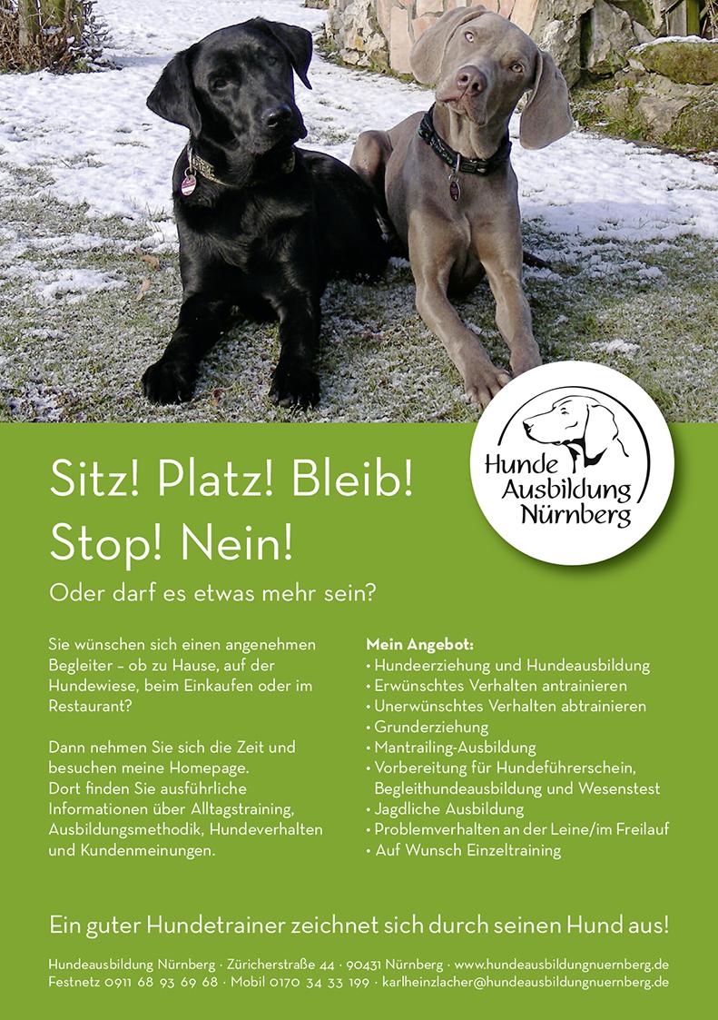 Hundeausbildung Anzeige