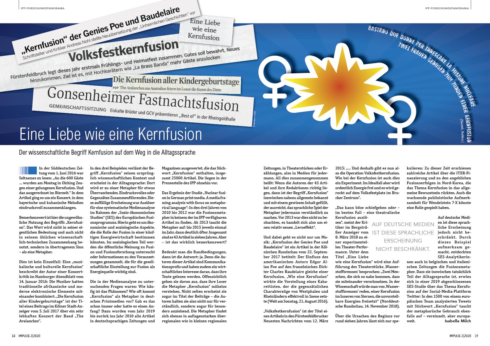 IPP Hauszeitschrift IMPULSE