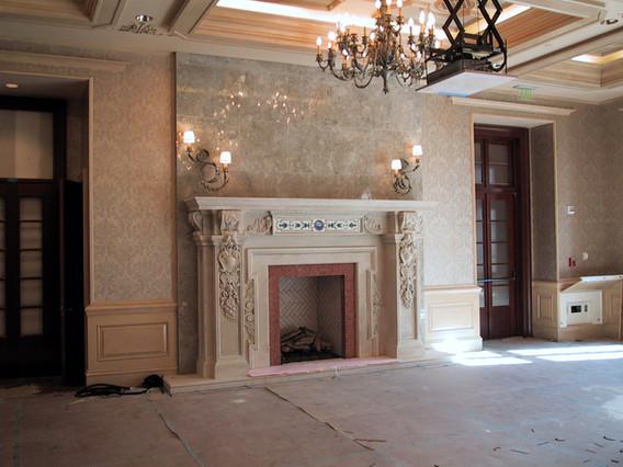 Building Fireplace