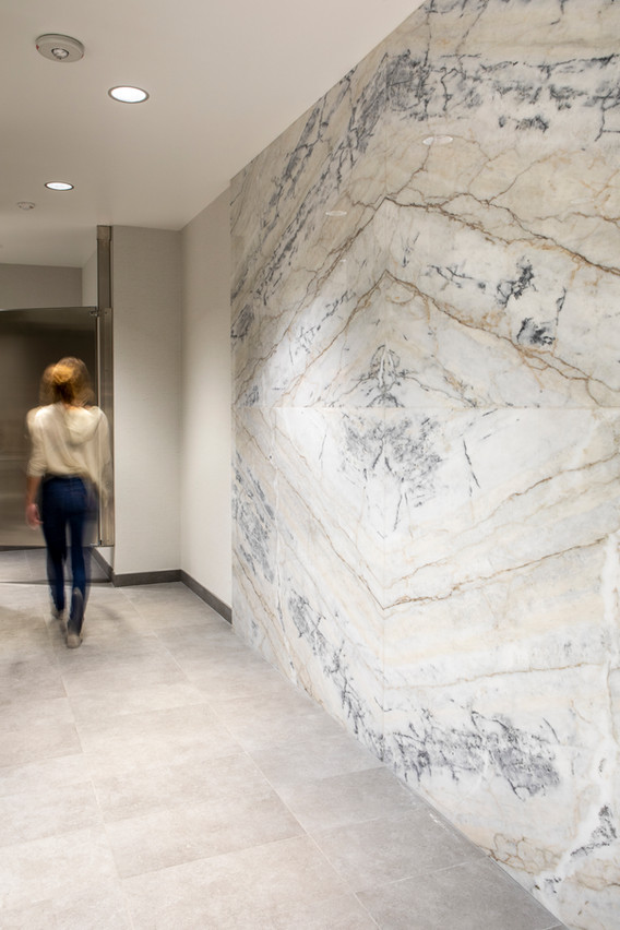 Three Alliance Marble Walls