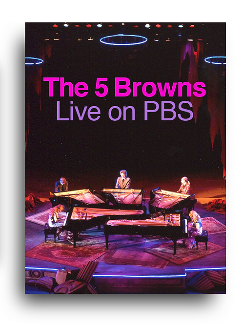 The 5 Browns LIVE on PBS
