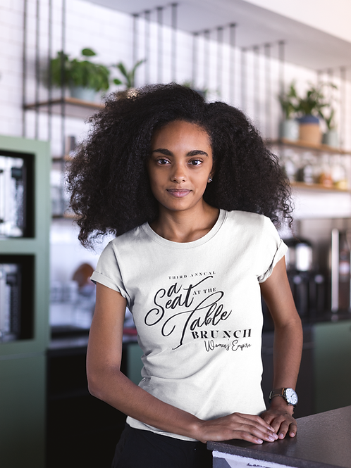 A Seat at the Table Tee (White)