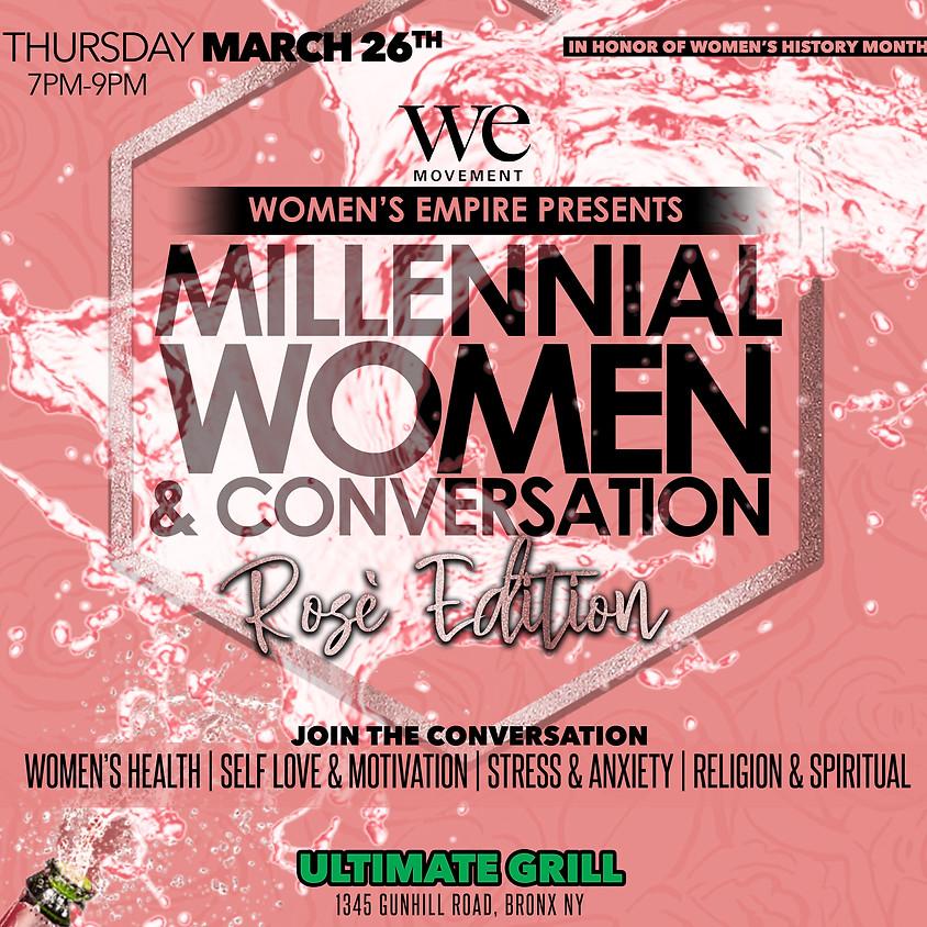 Millennial Women & Conversation: Rosé Edition