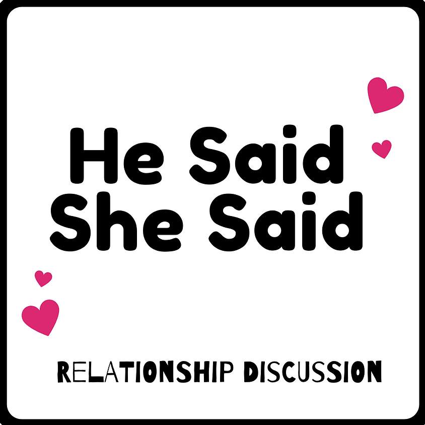 He Said | She Said: Relationship Discussion Test wix