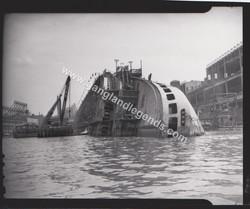 1942 Normandie in NY Harbor 001