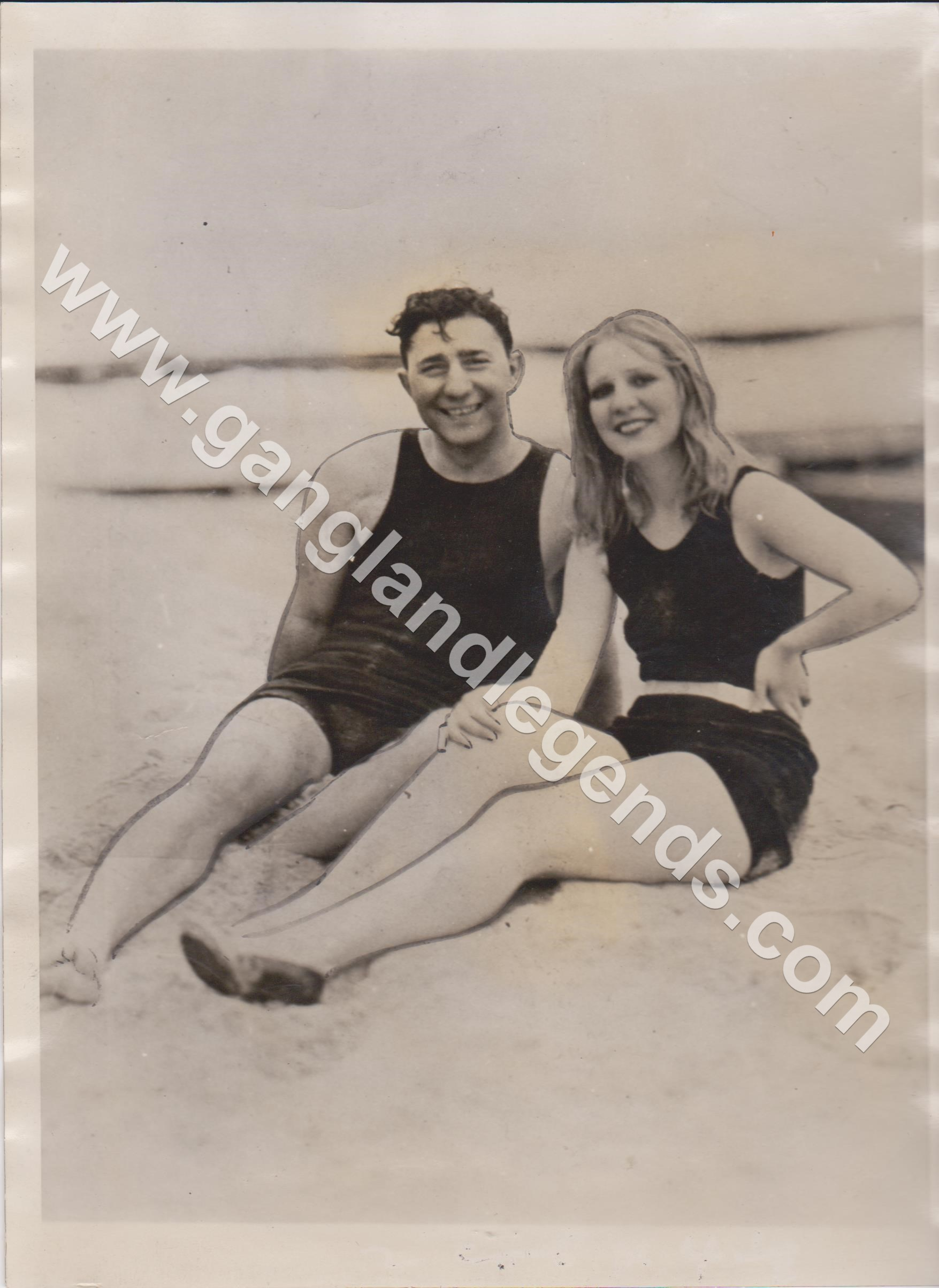 Louise Rolfe and Jack McGurn 1931