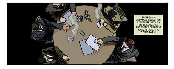 LUCKY Dope Men Comic Book Series