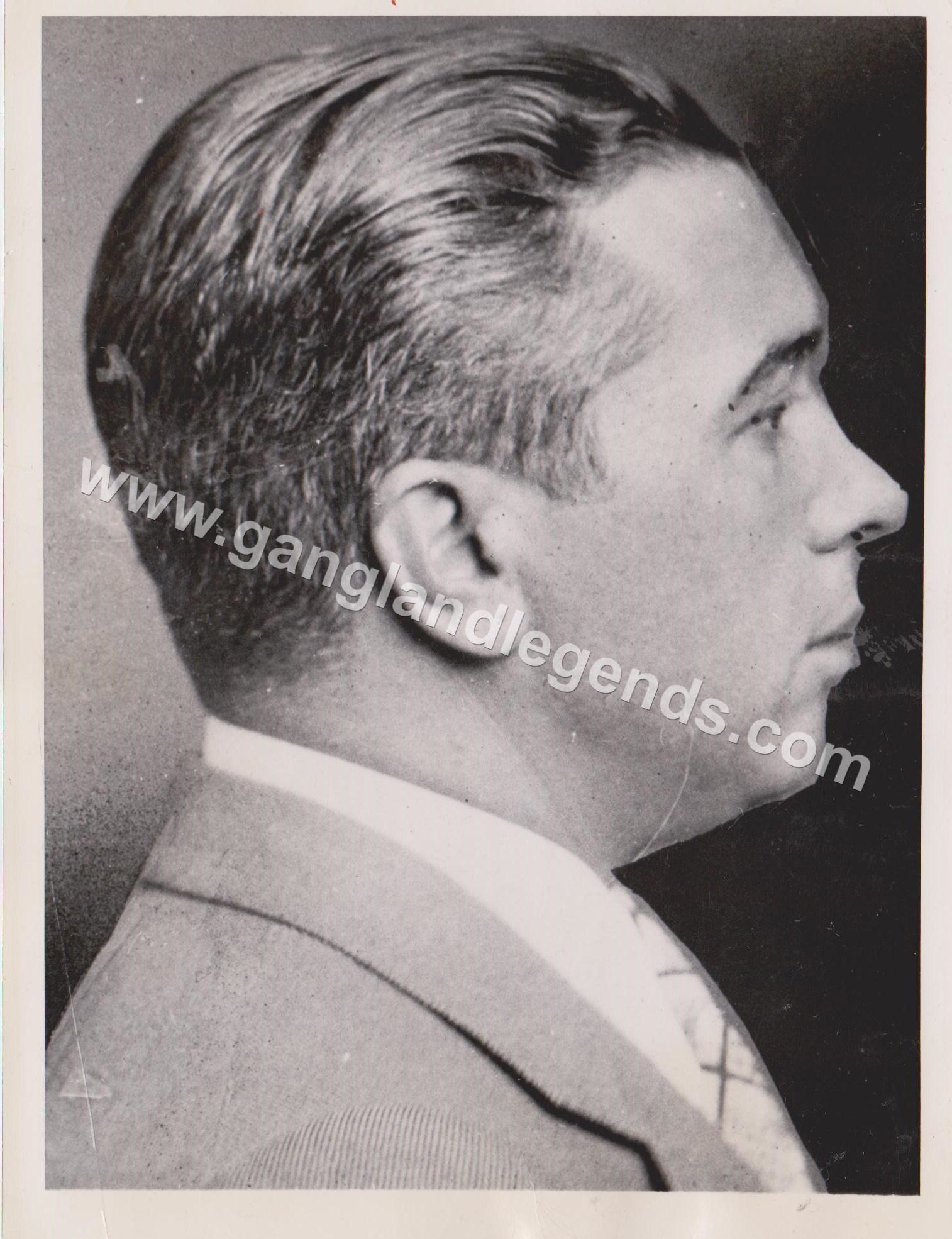 Mugshot Joe Adonis 1937 1