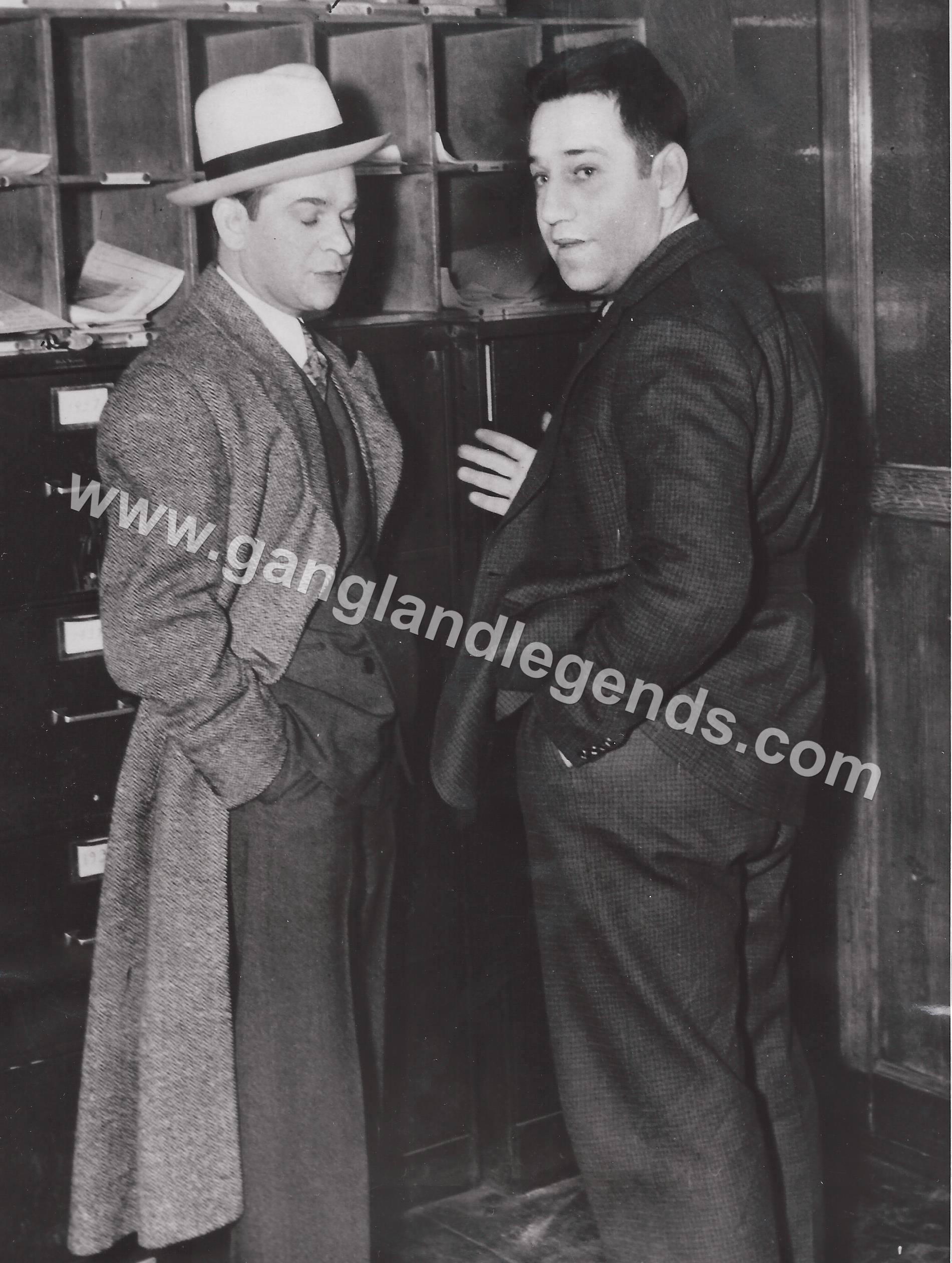 Murder Inc Martin Buggsy Goldstein & Seymour Blue Jaw Magoon 1937