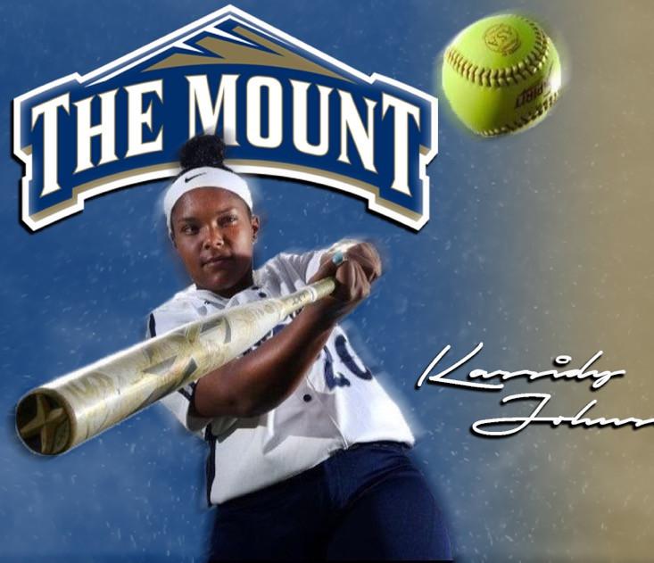 Kassidy Johnson - Mount St. Mary's 2020.